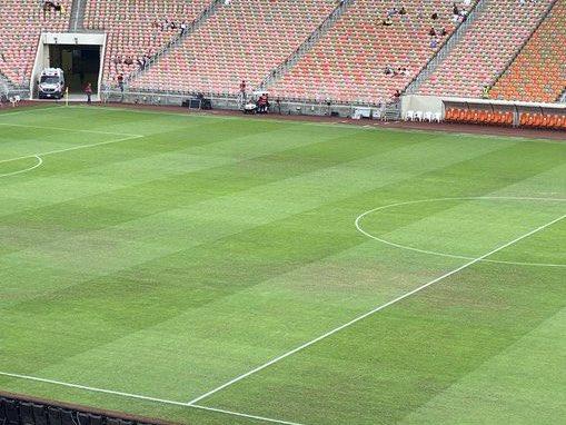 سبب سوء أرضية ملعب مدينة الملك عبدالله الرياضية