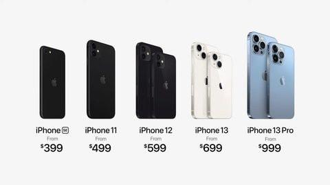 حسب أبل أسعار هاتف ايفون iPhone 13