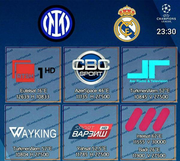 تردد قناة arena sport  1 الناقلة مجانا مباراة ريال مدريد وإنتر ميلان