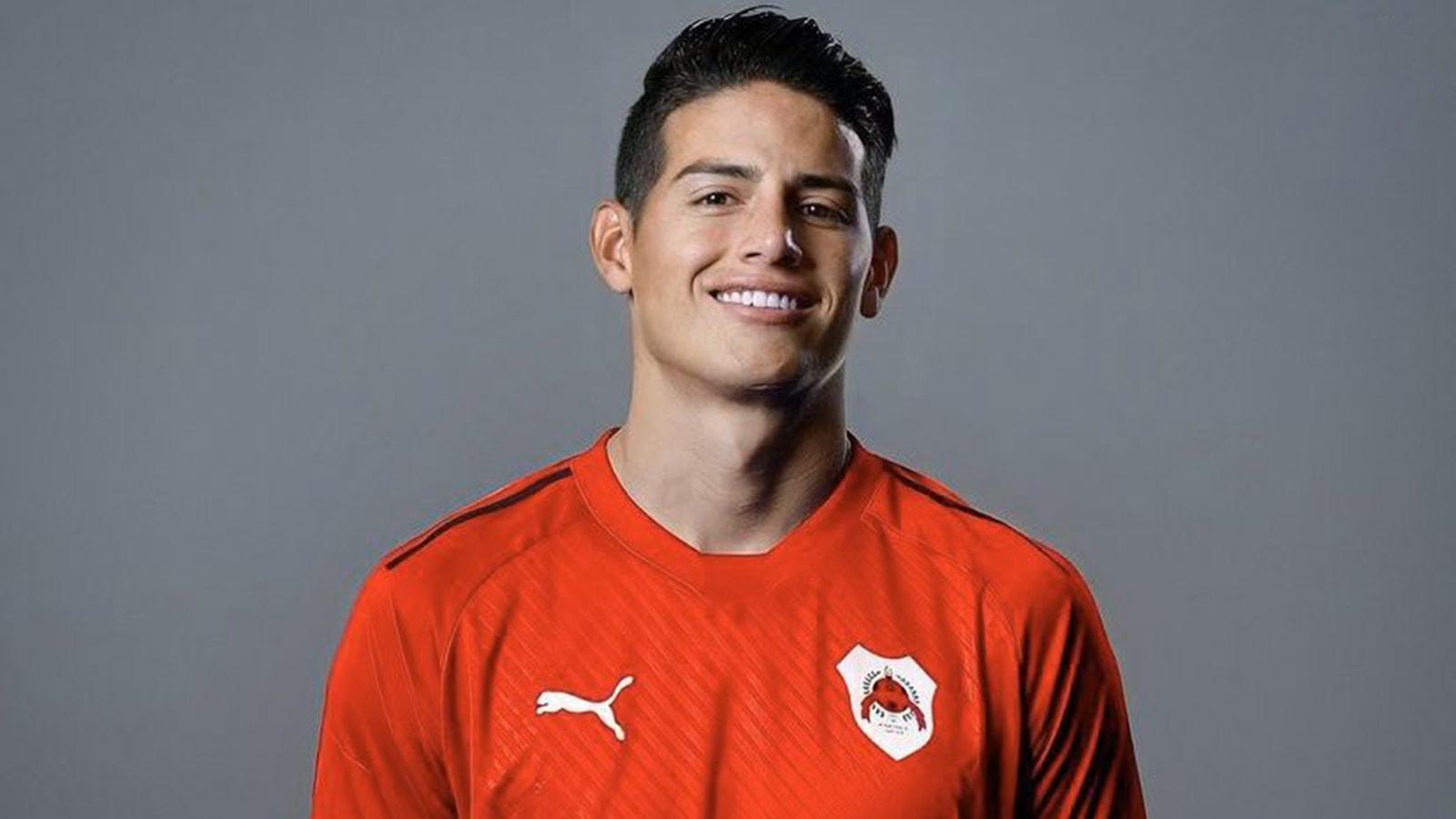 خاميس رودريغيز ينضم رسميا الى الريان القطري