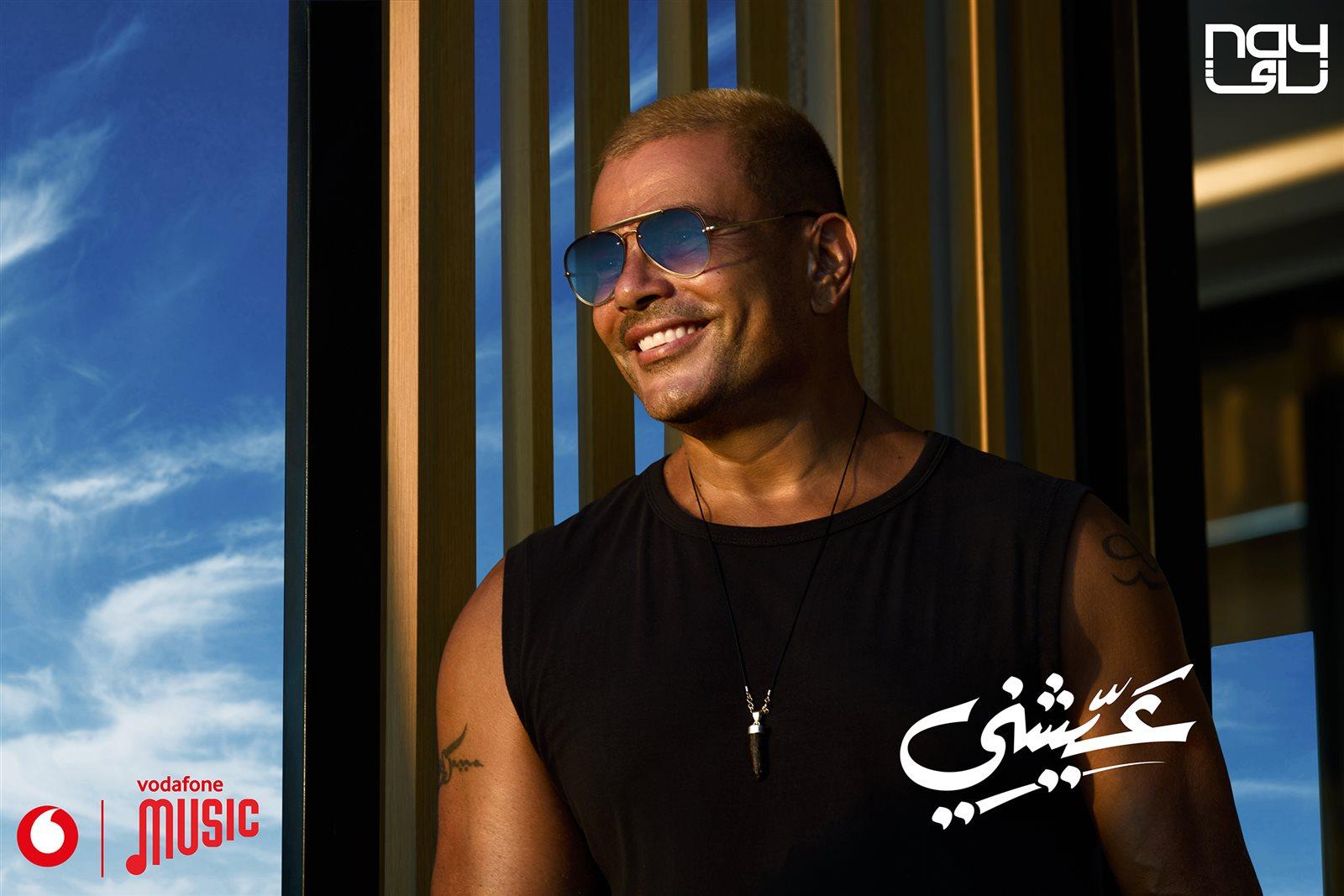 كلمات اغنية عيشني عمرو دياب