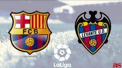 مباراة برشلونة وليفانتي الليلة مجانا على قناة Afghanistan tv
