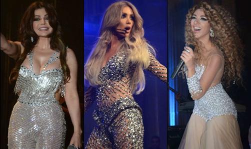 """اللبنانيات و حفلة رأس السنة """" ولعة """" ولعت فى لبنان 2015"""