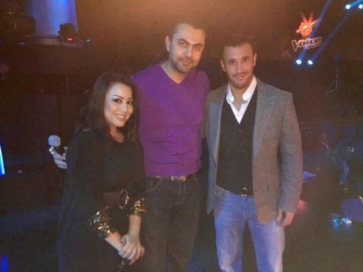 صور كاظم الساهر ويسرى ومحمد كريم في برنامج ذا فويس