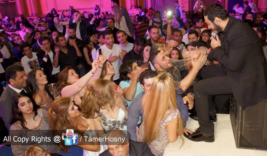��� ���� ���� ��� ��� ����� 2013 - Tamer hosny new year eve concert 2013
