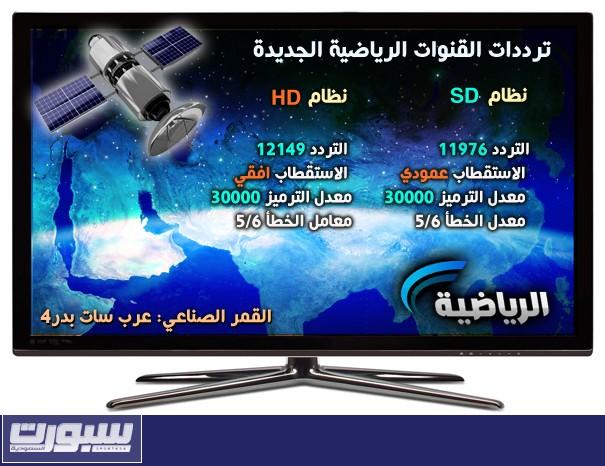 تردد السعودية الرياضية الجديد - تردد السعودية الرياضية 2013 - تردد السعودية الرياضية 1434