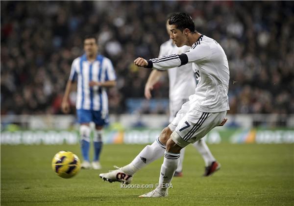 ريال مدريد يهزم سوسييداد معركة