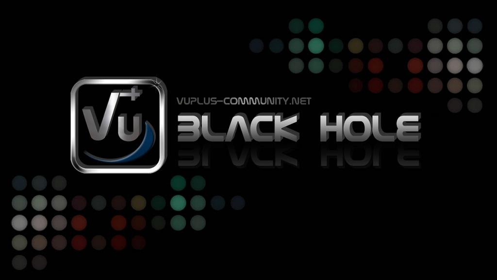 Black Hole Vu+ Solo 1.7.9 -  اصدار جديد 1.7.9 Black Hole