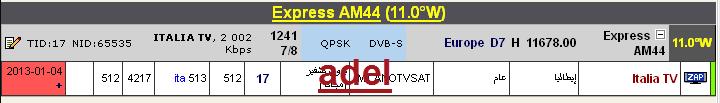 جديد القمر Express-AM44 West قناة dreambox-sat.com-6b6