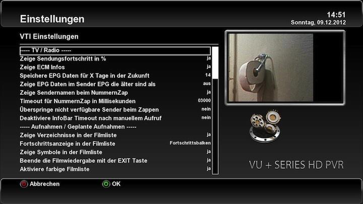 """VTi """"Vu+ Team Image"""" - v. 5.0.0 VU+ Solo"""
