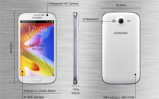 ������� ���� ������� ������� ����� � Samsung Galaxy Grand