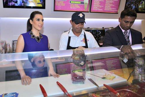 Kardashian Opens Millions Milkshakes Store