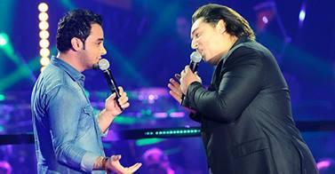 نتيجة المواجهة بين محمود ترابي وإياد القاسم في برنامج ذا فويس اليوم السبت 1/2/2014