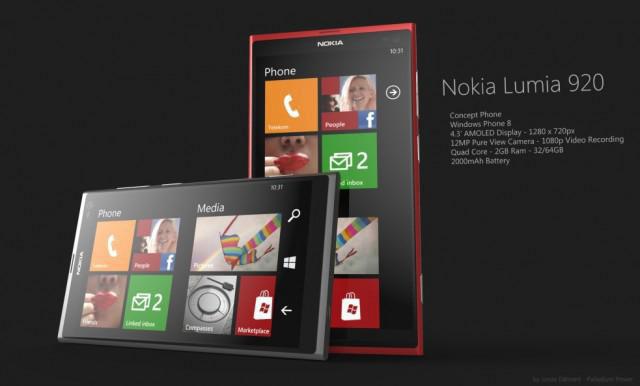 نظرة عامة على هاتفي نوكيا لوميا 920 و 820 الجديدين - مواصفات نوكيا لوميا 920 - مواصفات نوكيا لوميا 820