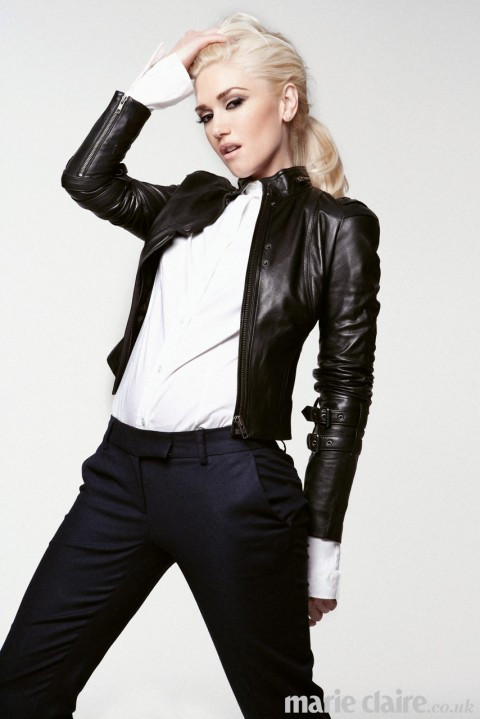 Gwen Stefani for Marie Claire UK January 2013
