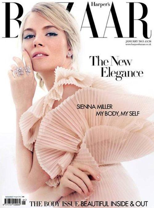 Sienna Miller new photos 2013 - Sienna Miller for Harper�s Bazaar UK 2013